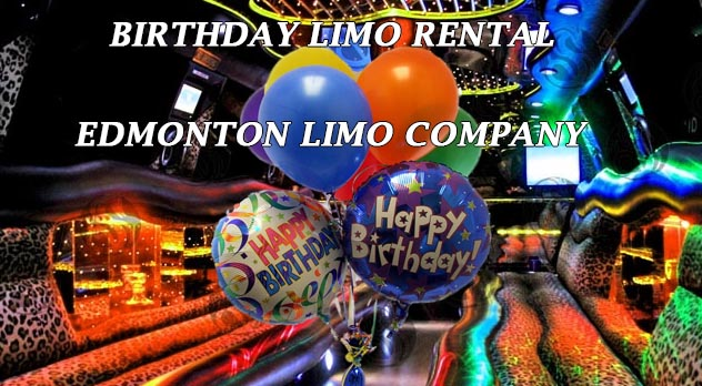 Birthday Limo in Edmonton