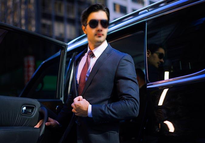 Professional Limousine Driver Edmonton