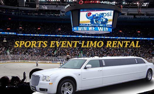 sports Event Limousine Rental